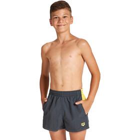 arena Bywayx Bicolor Shorts Boys asphalt/maracuja/maracuja